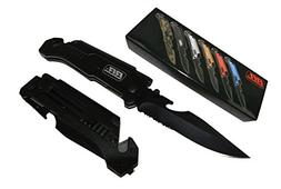 NEW Rogue River Tactical Knives Jet Black 7-in-1 Multitool S