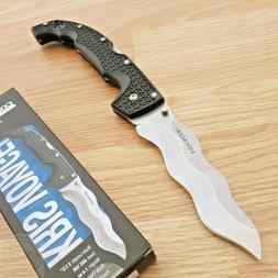 "Cold Steel Kris Voyager Folding Knife 5.5"" AUS-10A Steel Bla"