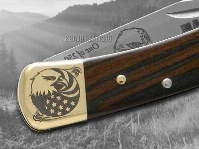 Buck 110 Knife Wood