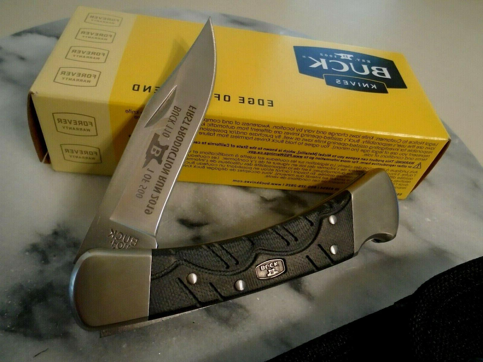"Buck Hunter 1 of Folding Pocket Knife 8.50"""