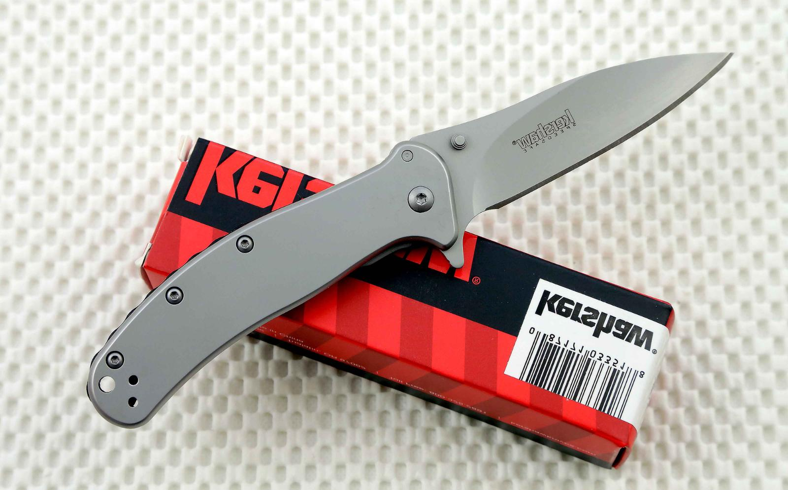 * 1730SS Kershaw Zing SS folding pocket knife frame lock ass