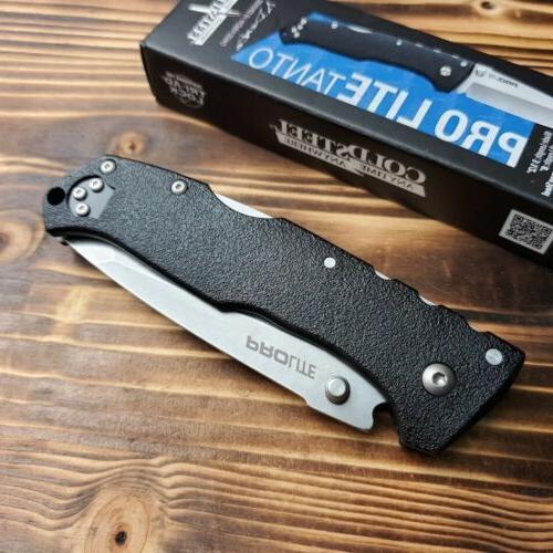 Cold Steel Tanto Black FRN Handle Lockback Folding