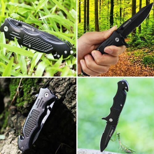3.4'' Knife Pocket Folding Spring Hunting
