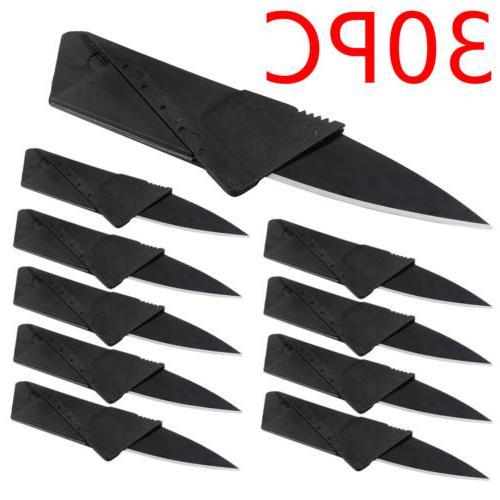 30x Credit Card Knives Folding Wallet Thin Pocket Survival M