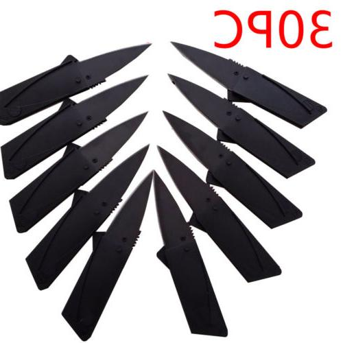 Outdoor Camping Cardsharp Credit Card Knife Knives Pocket Mi