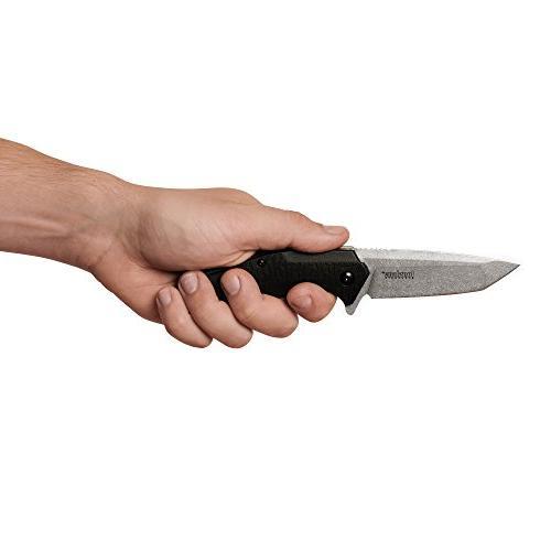 3.25 In. Steel Blade with Tanto Tip; SpeedSafe Open, Liner Lock, Pocketclip; 4.1 oz