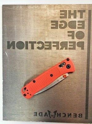 BENCHMADE 533 FOLDING KNIFE ORANGE CPM-S30V
