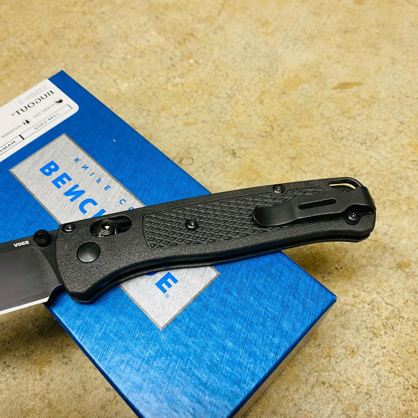 Benchmade 535BK-2 Bugout Folding Carbon