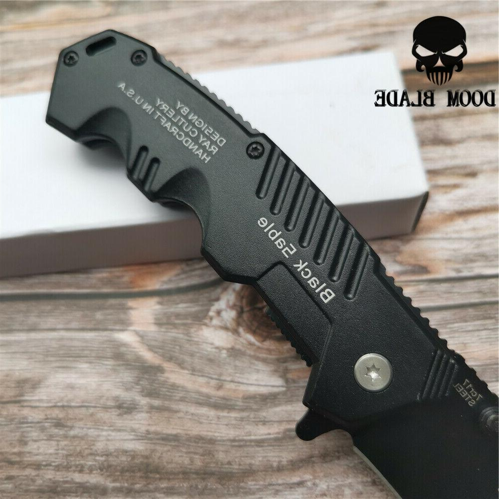 USA 57HRC Folding Tactical Open Assisted EDC