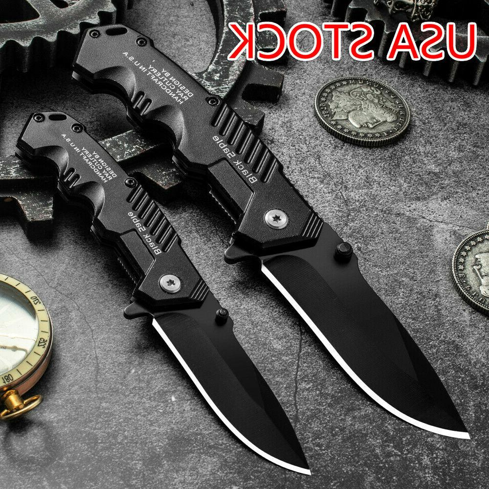 57hrc folding knife tactical survival knives hunting