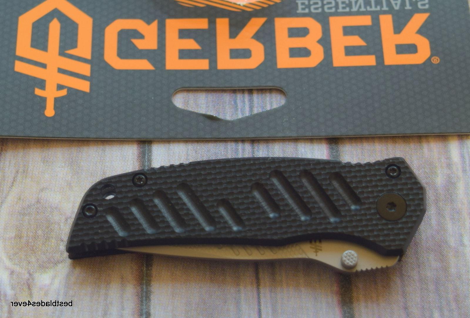 6.2 INCH OVERALL GERBER G-10 SWAGGER FRAME-LOCK FOLDING KNIFE POCKET