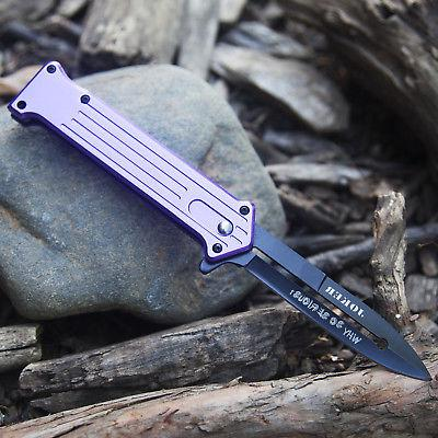 "7.5"" STILETTO TACTICAL POCKET KNIFE"
