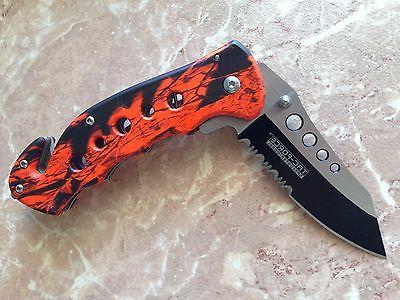 """7.75"""" FORCE ASSISTED RED CAMO NEW"""