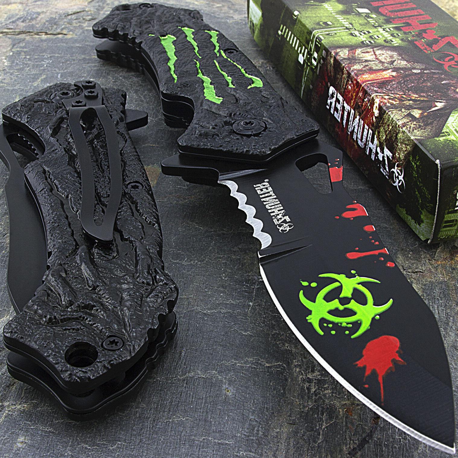 7 75 zombie hunter apocalypse biohazard spring