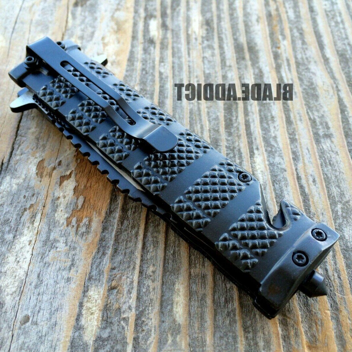 """8.5"""" FORCE SPRING OPEN ASSISTED TACTICAL POCKET"""