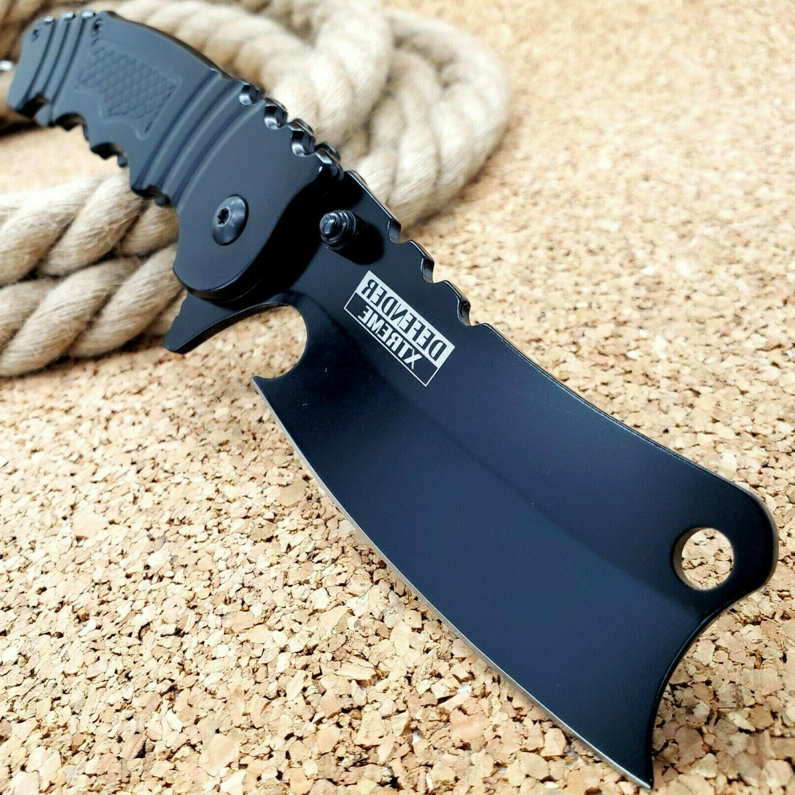 8 5 tactical cleaver spring assisted open