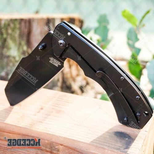 "8"" WARTECH CLEAVER RAZOR Assisted Pocket Knife"