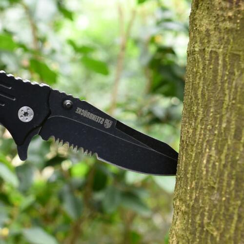 "8"" Folding Knife Pocket Assist EDC Knife USA"