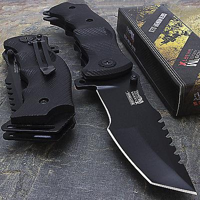 """9"""" MTECH USA TACTICAL TANTO SPRING ASSISTED TACTICAL FOLDING"""