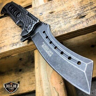 "9"" TAC FORCE Razor Spring Assisted Open Folding Pocket Knife"