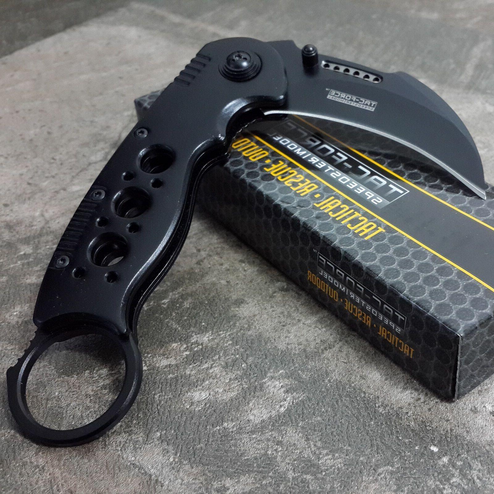 BLACK SPRING POCKET KNIFE Claw