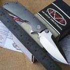 Bearing Washer Folding Tactical Camping Knife Strider DOC Ti