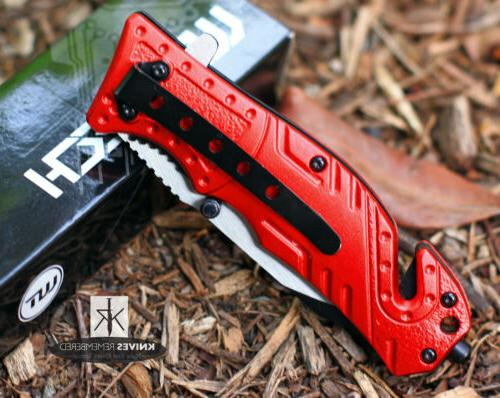X50 Quick-Opening Tactical Pocket Knife, Free Shipping + LIF