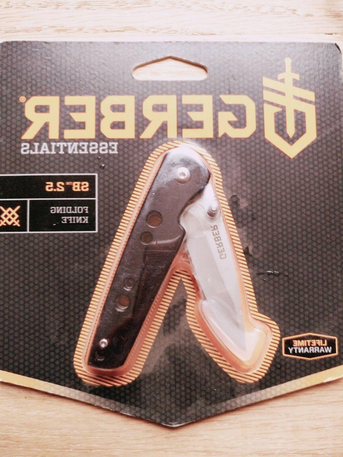 Gerber SB 2.5 Aluminum Handle Folding Pocket Knife