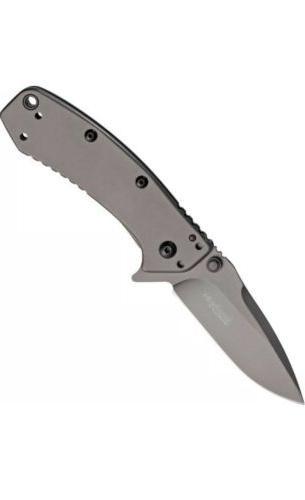 Kershaw 1555TI Knife Cryo Hinderer Hunting Speedsafe Folding