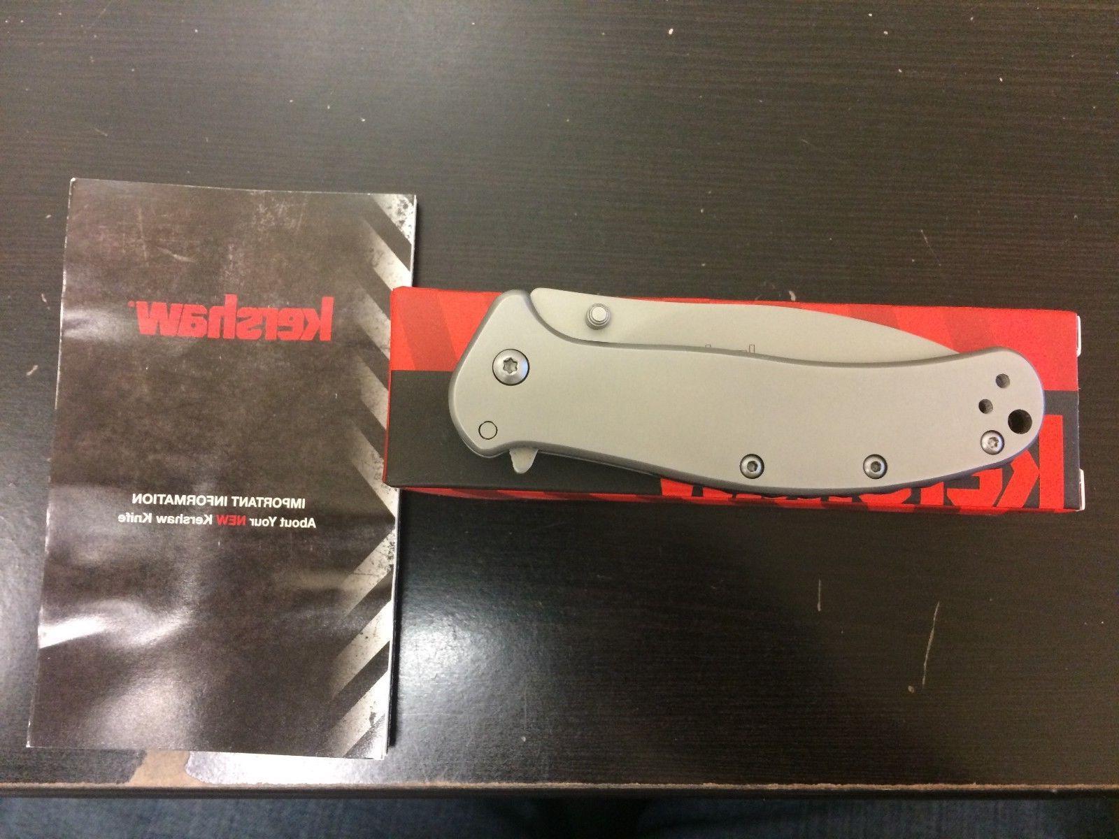 Kershaw Zing 1730SS pocket knife frame lock