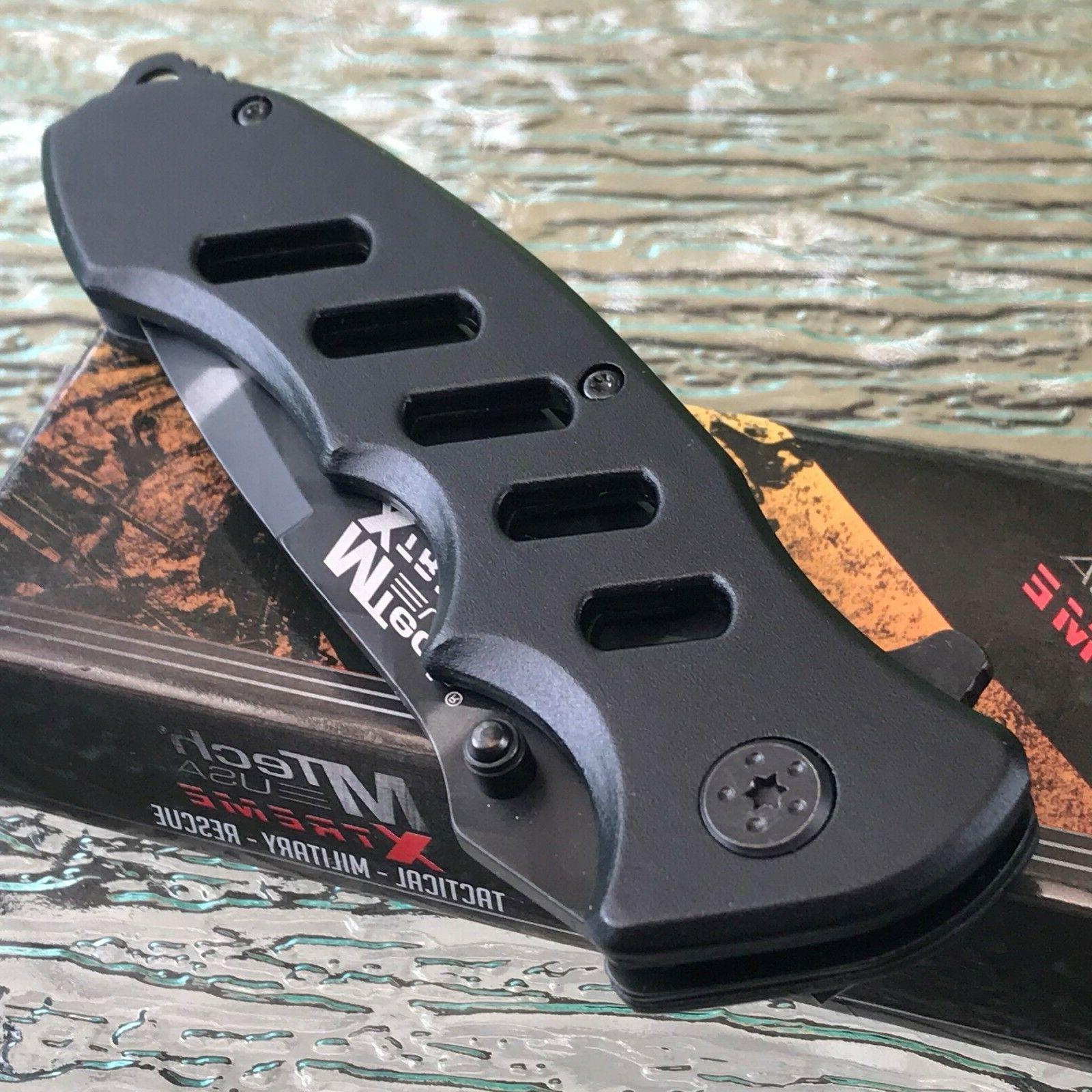 "2 x 8.75"" MTECH USA XTREME BLADE STEEL POCKET KNIFE"