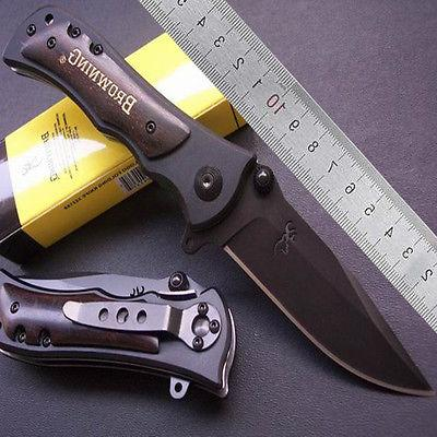New Browning LM339 Counter-Strike Rescue Hunting knife Foldi