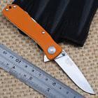 SOG Twitch II G10 Orange Handle Outdoor Survival Folding Sma