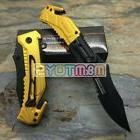 TAC-FORCE First Responder Yellow Rescue Survival Pocket Fold
