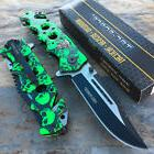 TAC-FORCE Green Skull Camo Camping Hunting Tactical Rescue P