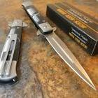 TAC-FORCE Spring Assisted Opening PUNISHER Skull Dagger Pock