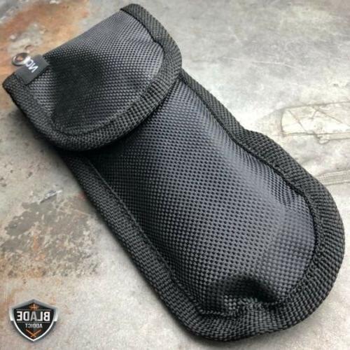 TACTICAL Assisted Pocket FOLDING Blade Black