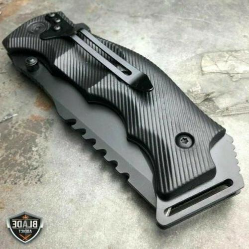 TACTICAL Open Pocket CLEAVER RAZOR FOLDING