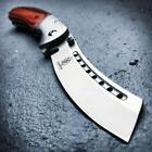 TACTICAL Spring Assisted Open Pocket Knife CLEAVER RAZOR FOL