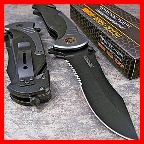 Tac GREY Blade Spring Assisted Knife