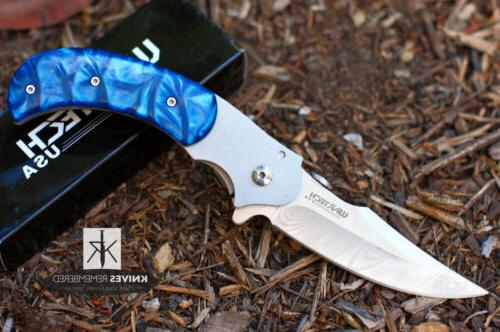 "Wartech 7.5"" Assisted Opening Hunting Folding Knife with Blu"