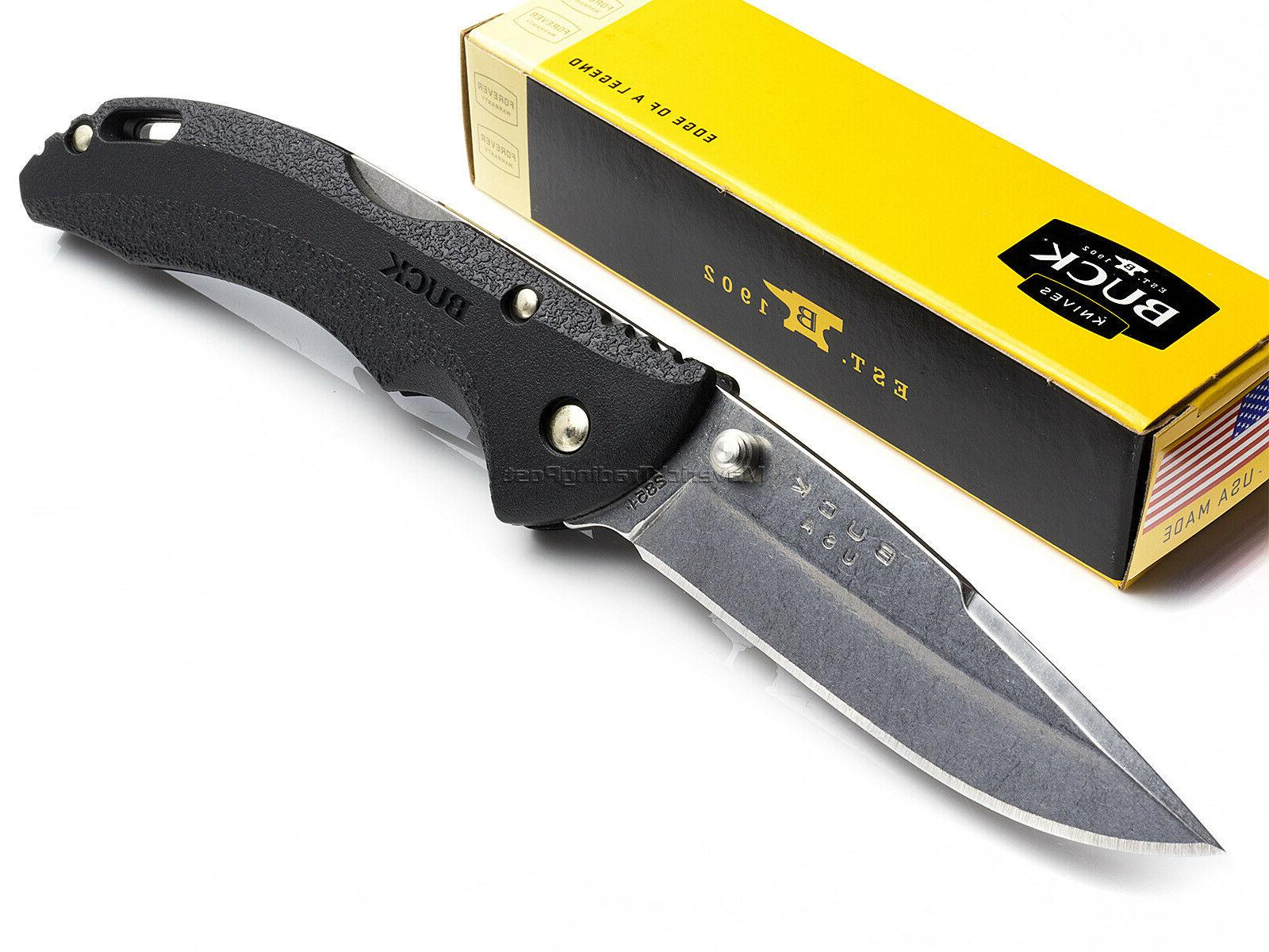 bantam folding pocket knife black