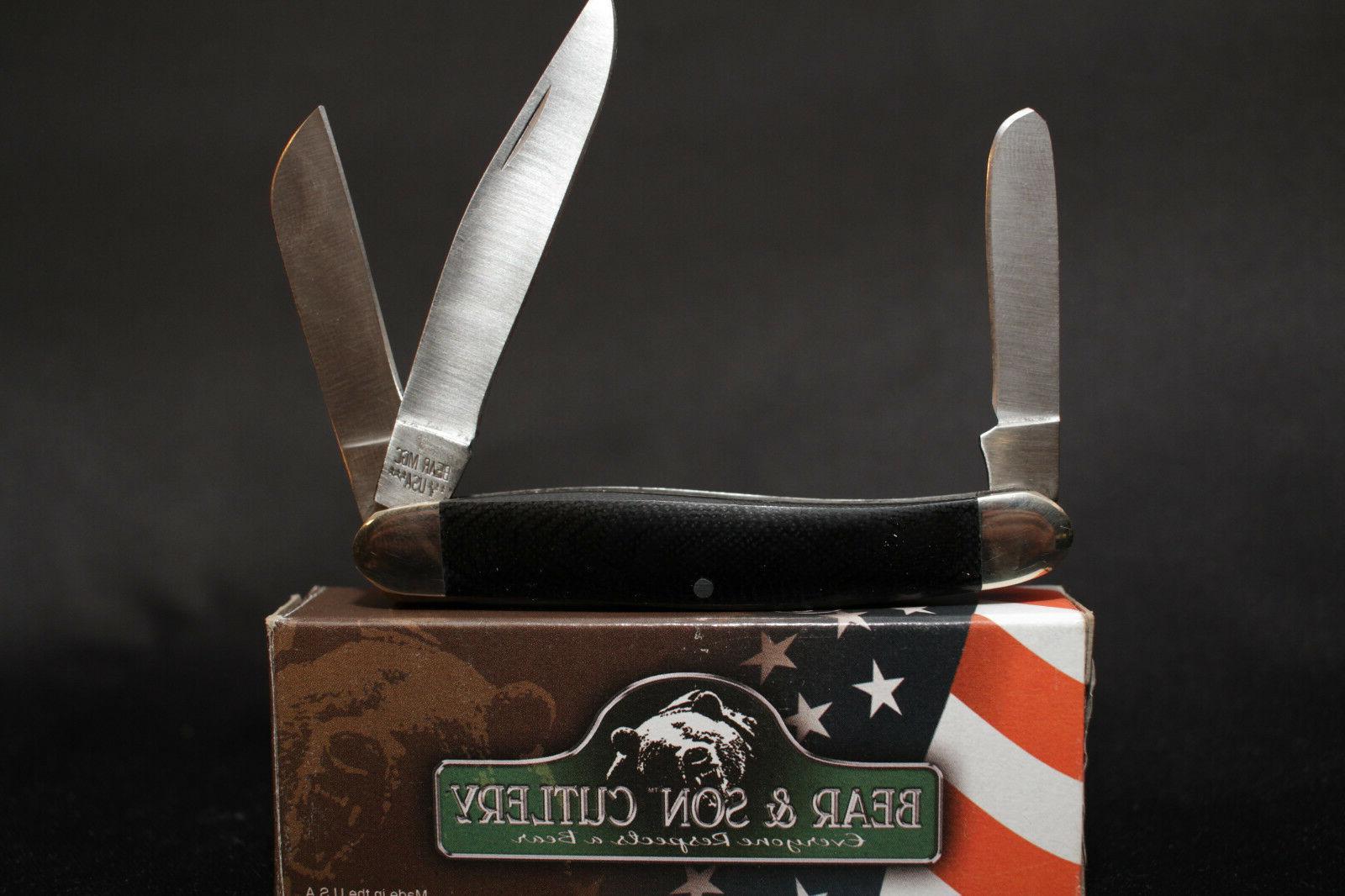 Bear G47 Pocket Knife G10 handle 3