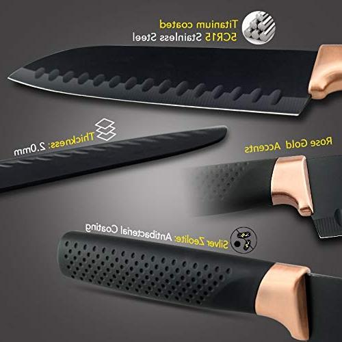 Best - Sets - Kitchen Knives Set Chef Bread Cleaver Accessories - LINAE -