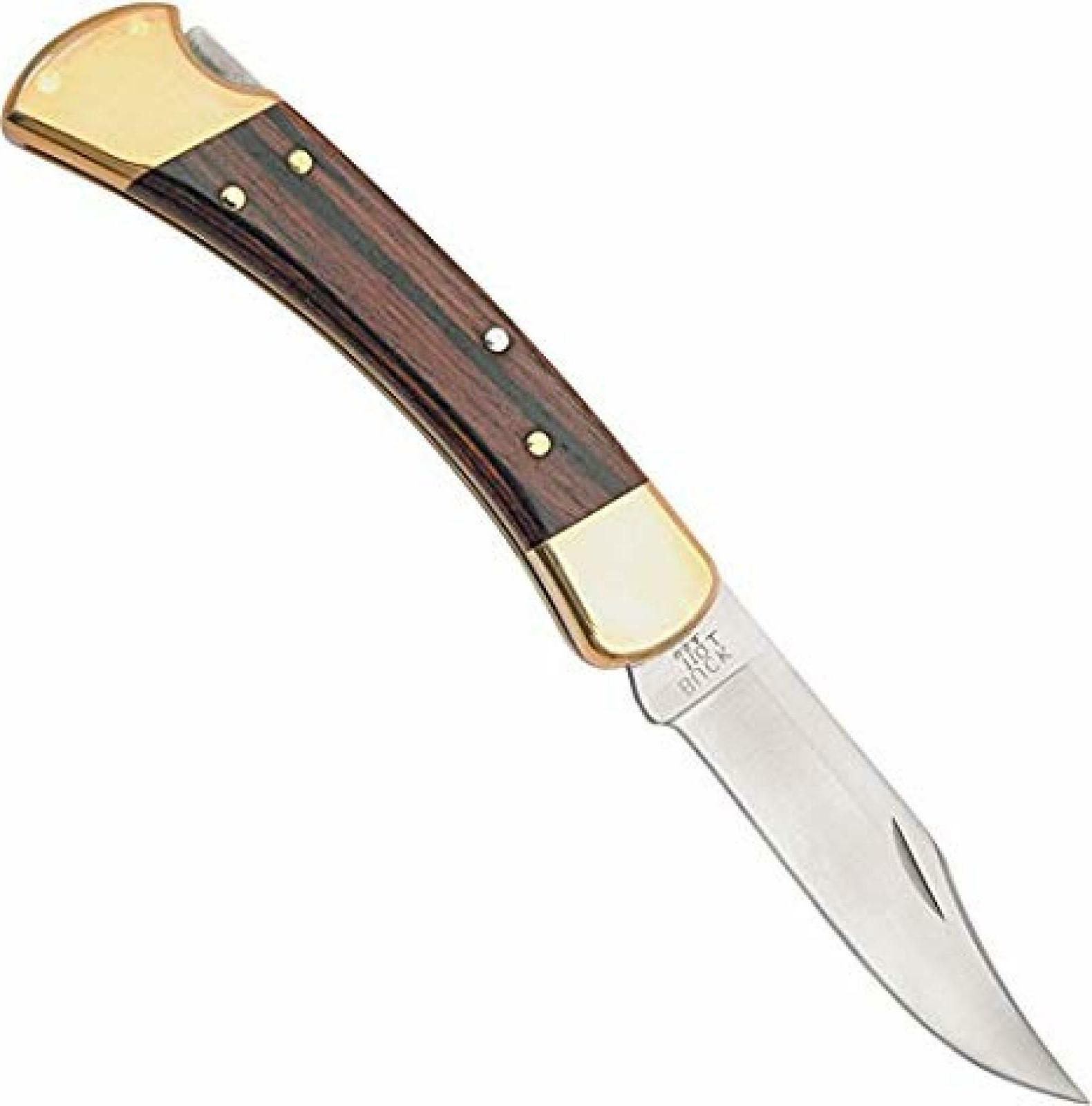 Lockback Knife Black In.