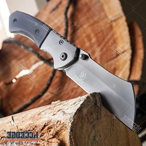 Wartech Buckshot Knives Combo 3 Blade Cleaver Knife Cleaver + Miniature Buckshot Folding
