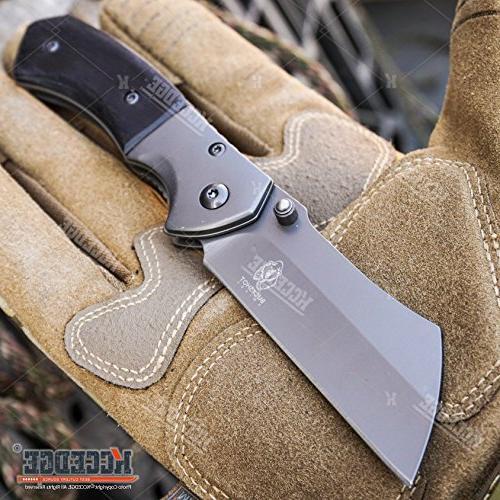 Wartech Cleaver Set Outdoor Blade Cleaver Knife Cleaver + Cleaver Folding