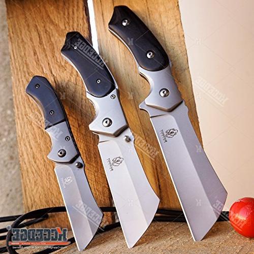 buckshot knives cleaver combo black