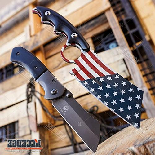 buckshot knives little cleaver combo