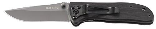 CRKT Pocket Knife: Gray Thumb G10 Clip 6450K